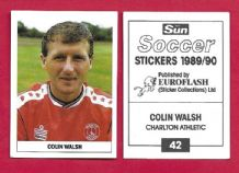 Charlton Athletic Colin Walsh 42
